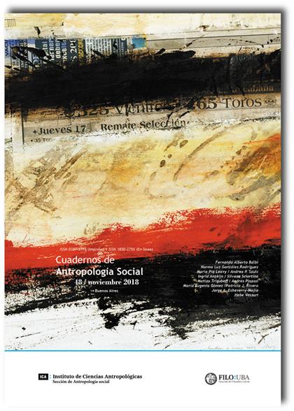 Cuadernos de Antropología Social nro. 48
