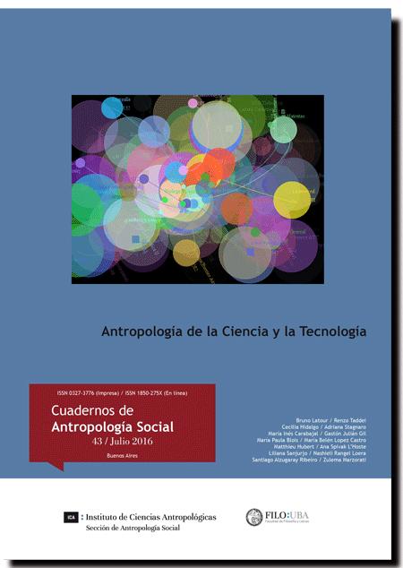 Antropología de la Ciencia y la Tecnología