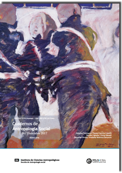 Cuadernos de Antropología Social /46