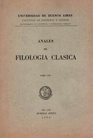Anales de Filología Clásica 8